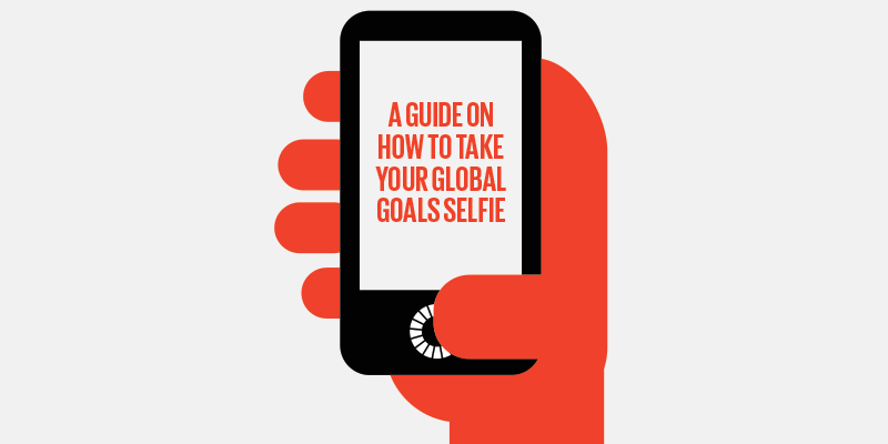 TAKE YOUR GLOBAL GOALS SELFIE
